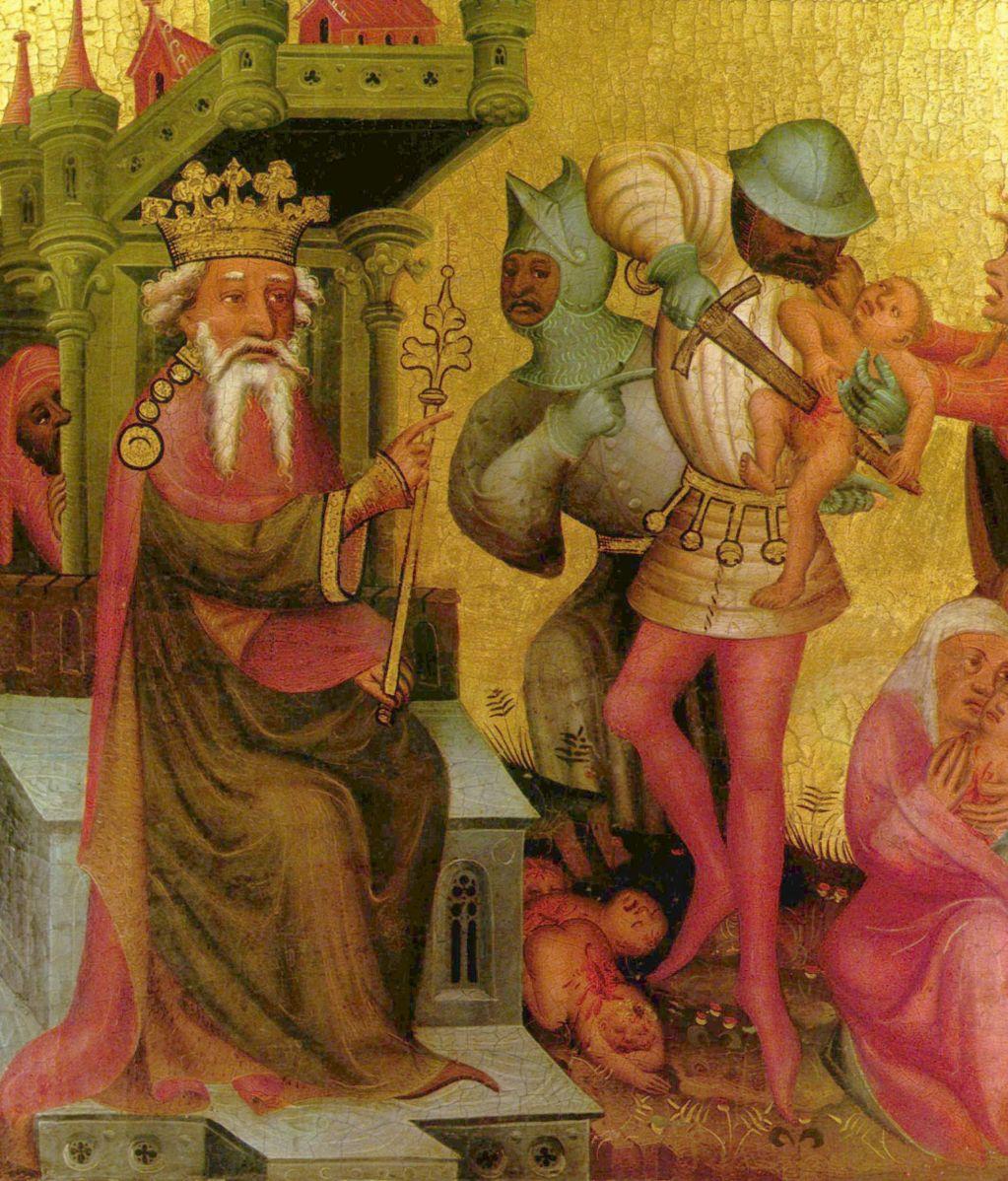 Мастер Бертрам, 1410-е.